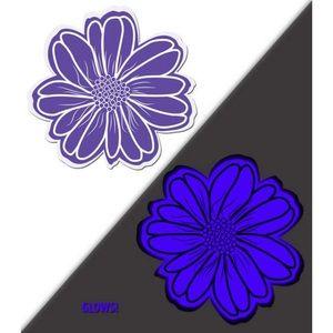 Pastease Purple Glow in the Dark Flower Pasties
